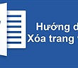 Cách xóa trang trắng trong Word rất nhanh và đơn giản