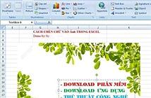 Hướng Dẫn Cách Chèn Viết Chữ Lên Ảnh Trong Excel