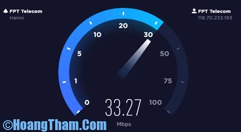 Kiểm tra tốc độ mạng internet đơn giản, chính xác nhất