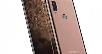 """Motorola P40 tầm trung lộ camera sau kép siêu """"chất"""", độ phân giải 48MP"""