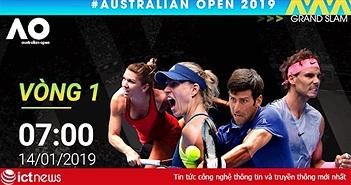 VTVcab mua bản quyền giải quần vợt Grand slam Úc mở rộng