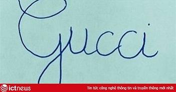 Hướng dẫn viết chữ theo trào lưu Gucci