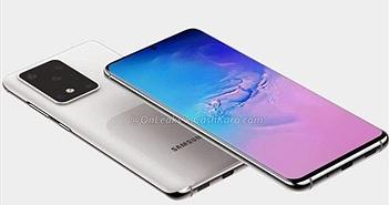 Samsung Galaxy S20 lộ diện thiết kế rõ nét