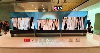 TV OLED cuộn của LG giành được giải thưởng TV sáng tạo nhất