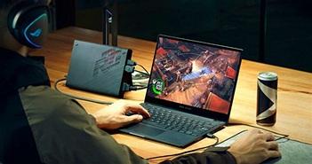 Asus ROG Flow X13 ra mắt: laptop chơi game nhỏ nhắn, gắn eGPU để chơi game