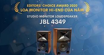Editors' Choice Awards 2020 - JBL 4349 - Loa monitor hiend của năm