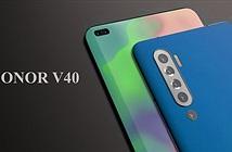 Honor V40 xuất hiện với màn hình siêu cảm ứng qua teaser