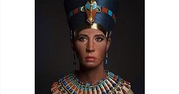 Làm sống lại gương mặt nữ hoàng Nefertiti từ xác ướp 3.400 tuổi