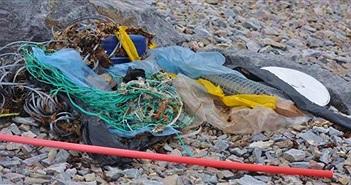 Choáng váng khi 1 lít băng Bắc Cực chứa 234 mẩu rác