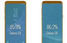Bất ngờ khi so sánh tỉ lệ màn hình của Galaxy S9 và Galaxy S8
