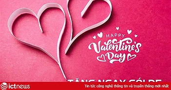Tổng hợp khuyến mãi nhà mạng ngày Valentine năm nay