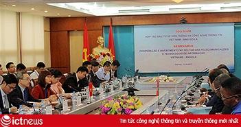 Angola sang Việt Nam tìm đối tác đầu tư vào lĩnh vực viễn thông - CNTT