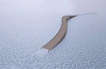 Cây cầu cực dị cực kỳ quái của Hà Lan: Cứ mưa là phải... ngập