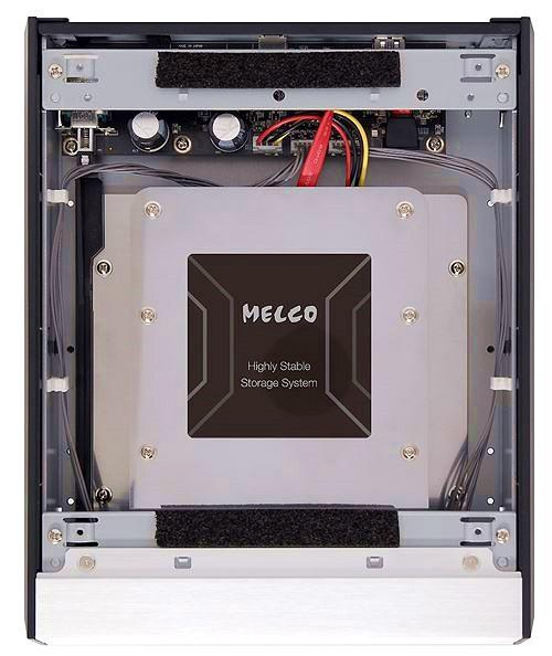 Melco giới thiệu đầu đọc/rip CD kết nối USB D-100 và bộ lưu trữ nhạc mở rộng E-100