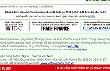 Website Vietcombank bị hack, hiển thị hai câu thơ chế