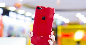Trên tay iPhone 8 Plus đỏ vừa cập bến thị trường Việt Nam