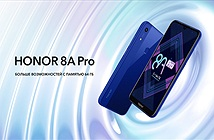 Honor 8A Pro ra mắt: Màn hình giọt nước, Helio P35, giá 217 USD