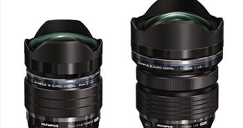 Olympus giới thiệu hai ống kính góc rộng: 7-14mm F2.8 PRO và 8mm F1.8 Fisheye PRO