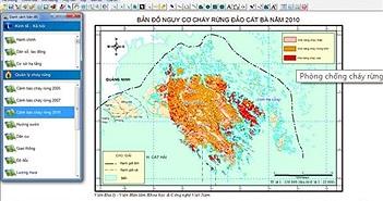 Phòng chống cháy rừng từ vệ tinh