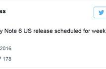 Lộ thời điểm Galaxy Note 6 ra mắt