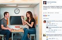 CEO Facebook gặp gỡ Selena Gomez trong phòng siêu nhỏ