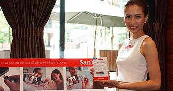 SanDisk Việt Nam tung ra loạt sản phẩm lưu trữ di động hấp dẫn