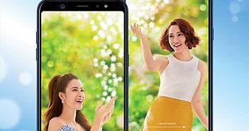 Nhiều ưu đãi hấp dẫn khi đặt mua Galaxy A6 và A6+ với