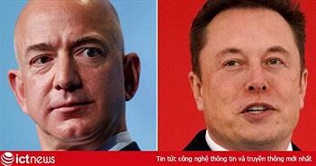 Cuộc chiến trong không gian: 'Kẻ lập dị' Jeff Bezos đấu khẩu với 'Iron man' Elon Musk trên Twitter, cả 2 tỷ phú không ai kém ai về độ 'ngoa mồm'