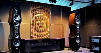 Munich Show 2019: Kharma trình diễn siêu loa nhì bảng EV-2D và kệ tích hợp Elegance Visionair