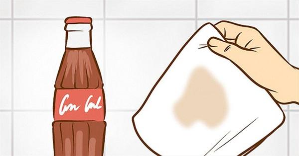 Mẹo biến coca thành chất tẩy rửa nhà bếp cực hiệu quả