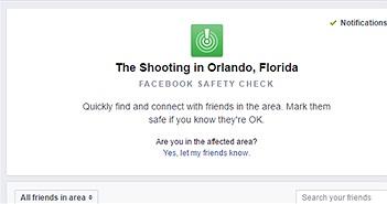 """Facebook bật tính năng """"Kiểm tra an toàn"""" sau vụ khủng bố tại Mỹ"""