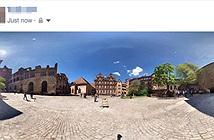 Thủ thuật khắc phục lỗi tải ảnh panorama không hiển thị 360 độ trên Facebook