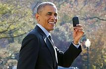 Smartphone của Tổng thống Obama giống như... điện thoại đồ chơi