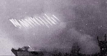 Kinh dị sức mạnh dàn pháo Cachiusa trên biển trong CTTG 2