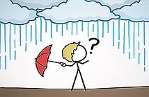 Nguyên nhân phần lớn mưa không bao giờ chạm đất