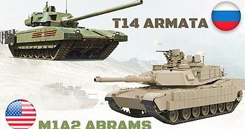 T-14 Armata và M1 Abrams đối đầu: Ai sẽ thắng?