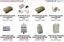 Công khai rao bán thiết bị kích sóng di động