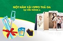 Mua điện thoại selfie đỉnh cao, sài OPPO miễn phí 1 năm.