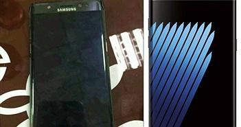 Samsung Galaxy Note7 lộ ảnh thực tế, quét mống mắt