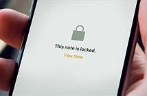 Hướng dẫn cách đặt mật khẩu ghi chú Notes trên iOS 9.3
