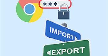 Sao lưu mật khẩu trên Google Chrome