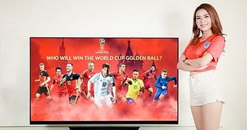 LG tặng TV cho khách hàng mùa World Cup 2018: ngày hội sắp kết thúc