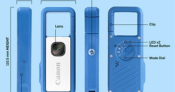 Canon gọi vốn cộng đồng làm máy ảnh dạng móc chìa khóa