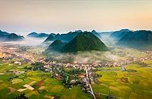 Phong cảnh Mùa vàng Bắc Sơn, Lạng Sơn - Chụp bởi kts.phuloc