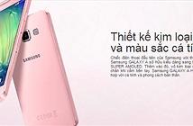 Samsung Galaxy A3 và A5 ra mắt phiên bản màu Hồng với giá chỉ từ 3.990.000đ