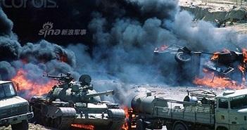 """Thảm thương xe tăng-thiết giáp Iraq trên """"xa lộ chết"""""""