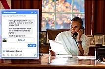 Người dân Mỹ có thể chat với Tổng thống Obama qua Facebook Messenger