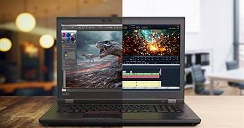 Lenovo ra mắt ThinkPad P1 và P72 với CPU Xeon, đồ họa Quadro, 128GB RAM