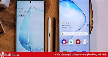 Bộ đôi Samsung Galaxy Note 10 đạt gần 20.000 đơn đặt hàng tại Việt Nam