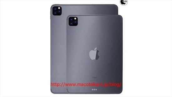 iPad Pro 2019 sẽ trang bị camera sau 3 ống kính
